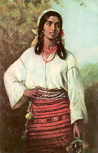 Theodor_Aman_-_Gipsy_Girl,_1884