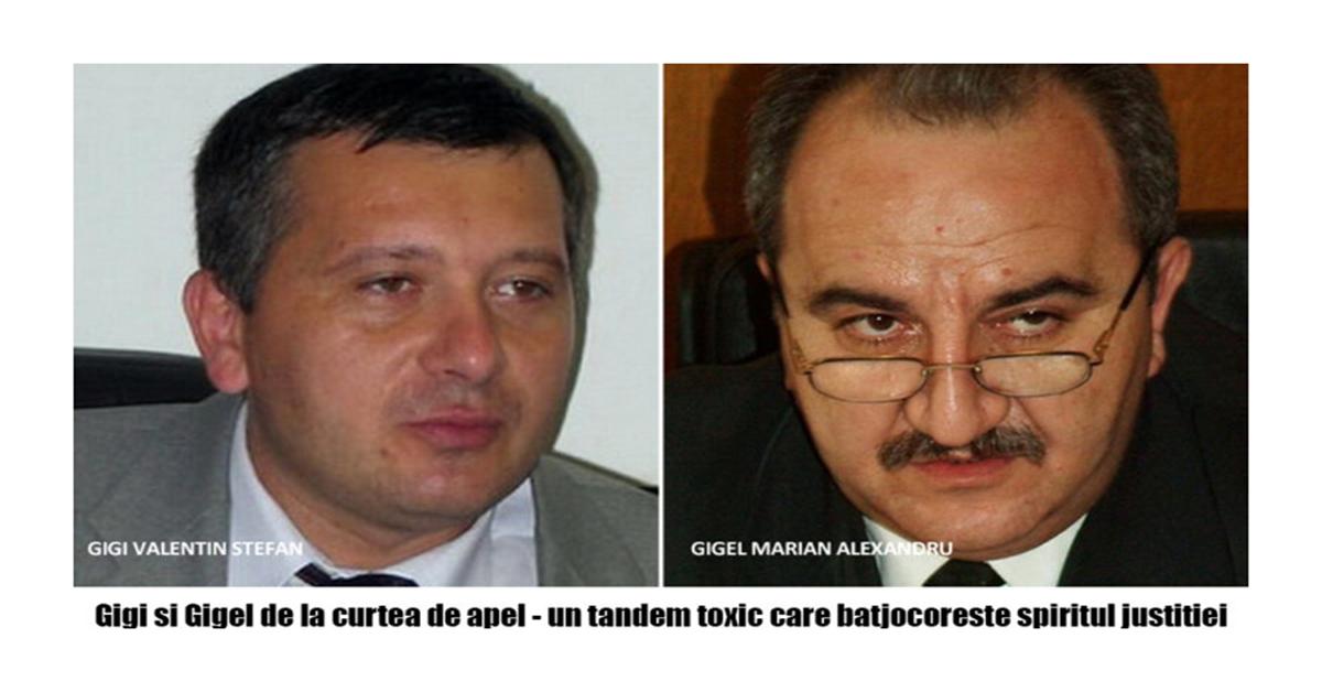 Procurorii Gigel-Marian Alexandru si Gigi-Valentin Stefan