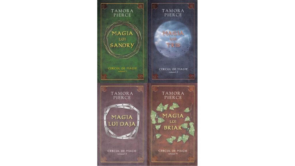 Seria Cercul de magie-Tamora Pierce